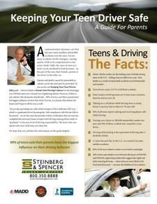 Keeping Your Teen Driver Safe