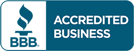 Logo Recognizing Steinberg Injury Lawyers's affiliation with BBB Accredited Business