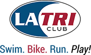 Logo Recognizing Steinberg Injury Lawyers's affiliation with the LA Tri Club